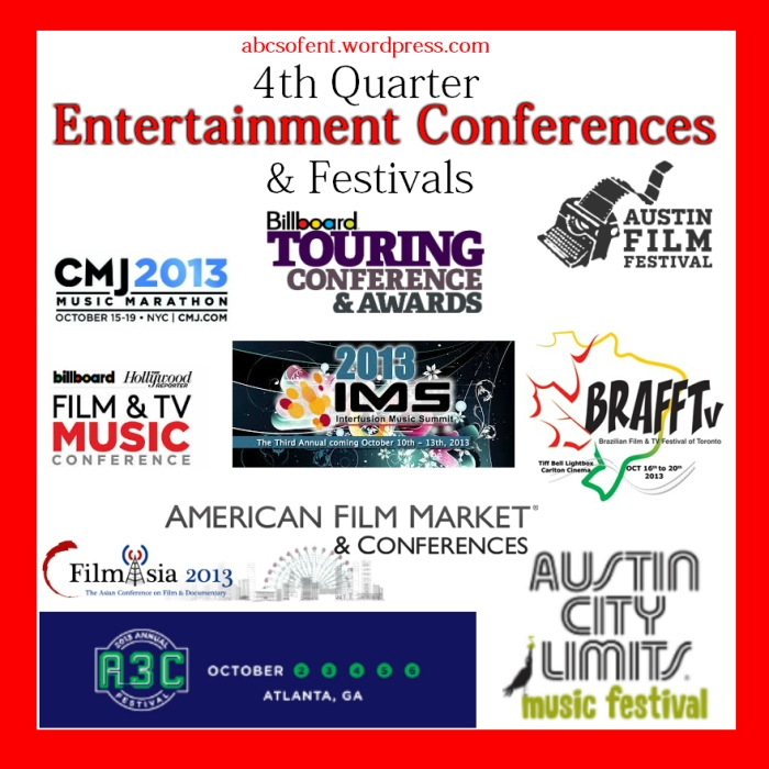 4th Quarter Entertainment Conferences & Festivals