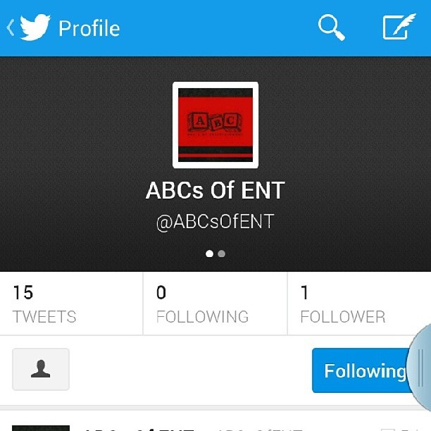 Follow ABC's of Entertainment on Twitter